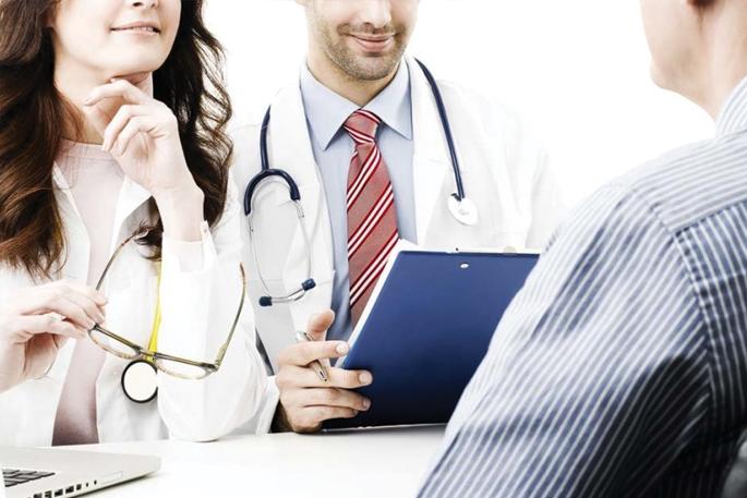 Twardziel u lekarza